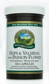 Hops & Valerian with Passion Flower (100) by Nature's Sunshine