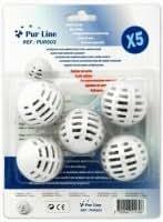 PURLINE - Pack de 5 boules anti calcaire pour humidificateur d'air