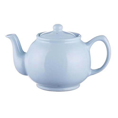 Price and Kensington Pastel Blue Fine Stoneware Traditional 2 Cup Teapot, 22 x 14 x 14 cm