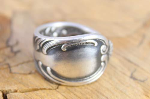 Rokoko Besteckschmuck Ring, ca. 61 (19,5)