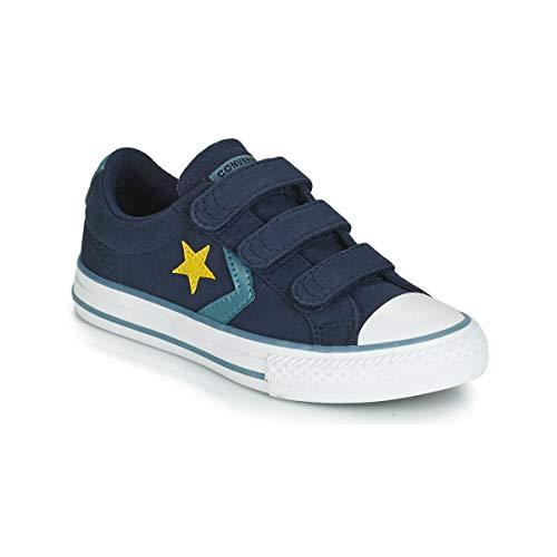 Converse Unisex-Kinder Chuck Taylor All Star Sneaker Blau (Obsidian/Celestial Teal 000) 33 EU