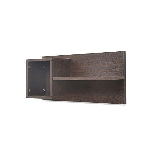 @home by Nilkamal Candice Wall Shelf (Brown)