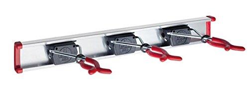 Bruns OBRU3 Gerätehalter für 3 Geräte Auf Führungsschiene, 0,5 m (10-er pack)