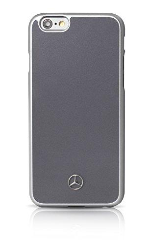 Mercedes-Benz MEHCP6LGR Dynamische Metallplatte harte Schutzhülle für Apple iPhone 6 Plus/6S Plus grau grau