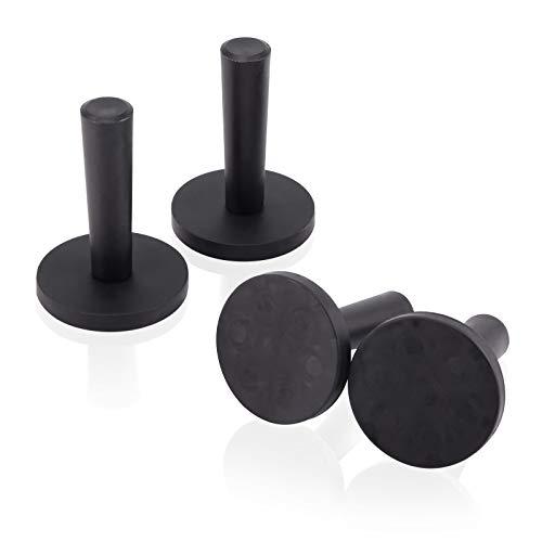 Ehdis 4pcs Auto-Verpackungs-Schwarz Gripper Magnethalter für Sign Vinyl, Car Wrapping & Crafts Sign Vinyl Werkzeuge Magnete Machen