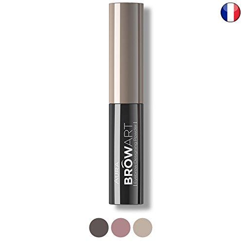 Poudre à sourcils Blond Browart Extra longue tenue par Aura Cosmétique marque professionnel de maquillage
