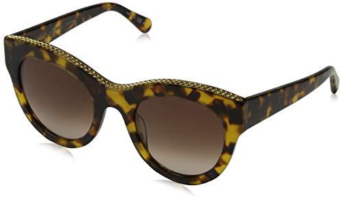 Stella McCartney Unisex-Erwachsene SC0018S 006 Sonnenbrille, Braun (006-Avana/Brown), 50