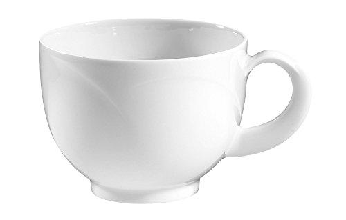 Obere zur Kaffeetasse 0,23 l Monaco weiss uni 00003 von Seltmann Weiden