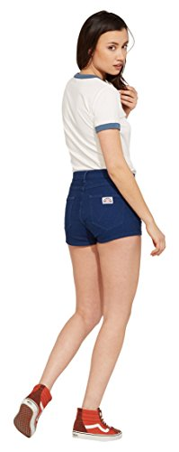 Wrangler Damen Shorts Retro Pin Up Shor Schwarz (Rinsewash 23)