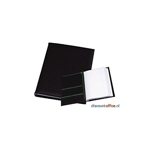Rillstab Präsentationsalben Angelrolle Botschafter DIN A4, 25x 33x 3cm, 30Hüllen (schwarz)