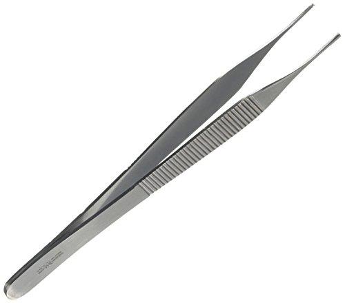Instrapac 7973Adson Micro Pinzette gezahnt 12,5cm -
