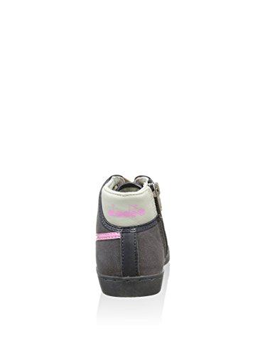 Diadora , Baskets pour garçon 80001 GRIGIO/ROSA