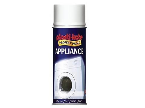 Plasti-kote 619 400ml Appliance Enamel Gloss - White