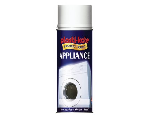 Plasti-kote 619 400ml Appliance Enamel Gloss - White