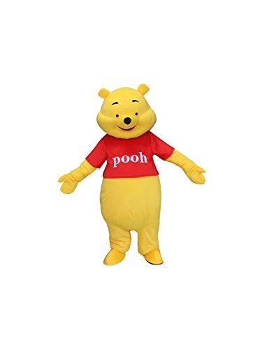 Happy Shop - Disfraz de Winnie The Pooh Bear para Adultos, Halloween, Mascota