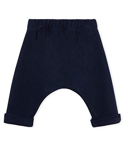 Petit Bateau Unisex Baby Pantalon_4618801 Hose, Blau (Smoking 01), 56 (Herstellergröße: 1M/54cm) - Petite Hose Hosen