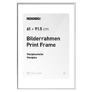REINDERS Bilderrahmen für Maxi-Poster 61x91,5cm Kunstoff Weiß