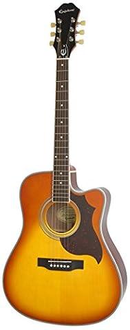 Epiphone FT-350SCE Ac/El (Min-ETune Equipped), Violinburst