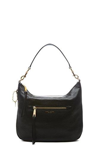 Marc-Jacobs-Womens-M0008895001-Black-Leather-Shoulder-Bag