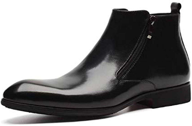 Scarpe Scarpe Scarpe da Uomo Inghilterra Stivali Corti High Help Business Martin Stivali Trend | Outlet Store  | Gentiluomo/Signora Scarpa  2cd988