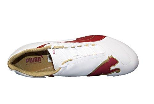 Puma 101793 02 Sportschuhe Fussballschuhe White-Rio Red-Team Gold White-Rio Red-Team Gold