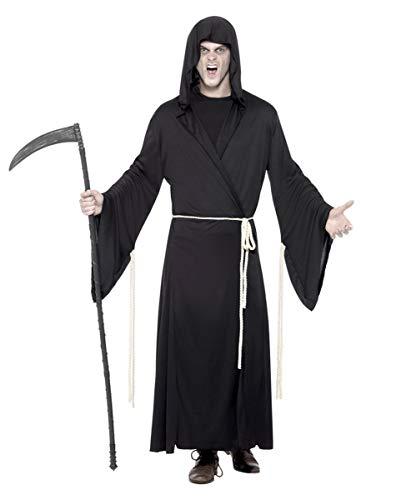 Horror-Shop Sensenmann Kostüm (Für Erwachsene Grave Reaper Kostüm)