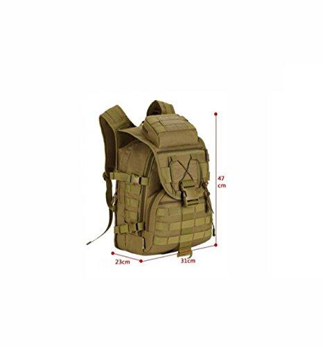 40L Militär Outdoor Tarnung Rucksack Wasserdicht Taktisch Bergsteigen Tasche camouflageC