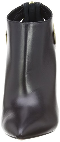 Casadei  6205N,  Damen Pumps Schwarz - Noir (Nero/Oro)