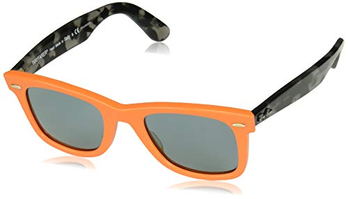 hsene 0RB2140 124252 50 Sonnenbrille, Orange/Bluepolar, ()