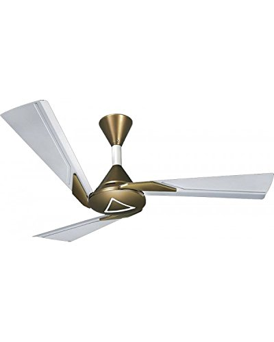 Orient Electric 1200 mm Orina Metallic Ivory Ceiling Fan- Olive Brown