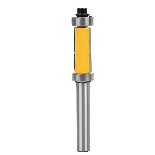 Flush Stahl Tür (8mm Holzbearbeitung Fräser Werkzeugschaft Muster Flush Trim Fräser Doppellager Handwerkzeuge Zubehör)
