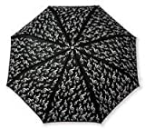 Mini umbrella G-clef black - GIFT
