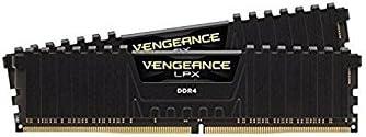 Corsair Vengeance LPX 16GB (2x8GB) DDR4 2666MHz C16 XMP 2.0 High Performance Desktop Arbeitsspeicher Kit, schwarz