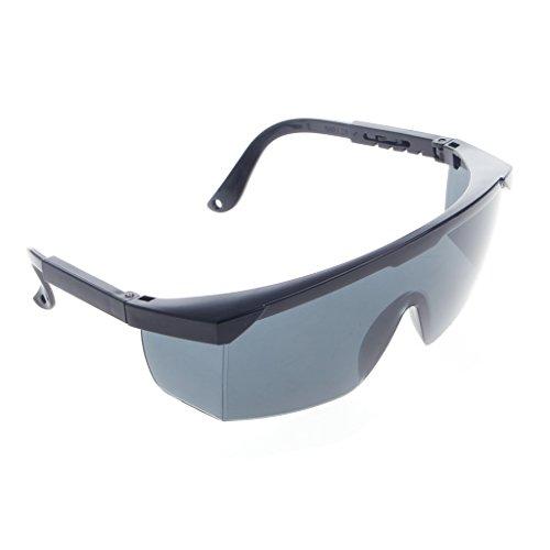 jiamins Sonnenbrille Sicherheit für Moto, Frameless' Tasche Auswirkungen Schutz Brille, grau