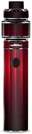 IT'S A SKIN Decal Vinyl Wrap for Smok Resa Stick Kit Vape Sticker Sleeve Cover/Red Metal Pattern Sc