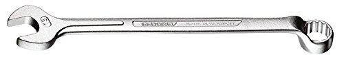 Preisvergleich Produktbild GEDORE 1 B 6 Ring-Maulschlüssel, gekröpft, geschmiedet, 10° abgewinkelt mit UD-Profil, DIN 3113 Form B, matt verchromt, 6 mm