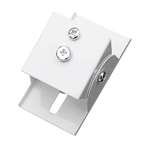 Especificaciones: Peso: 85g Material: acero Tamaño: los 7.8 * 4.5 * 4cm Ángulo de torneado: 180 ° El paquete incluye: soporte de montaje 1XSolar