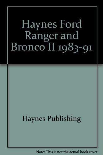 Haynes Ford Ranger and Bronco II 1983-91 (Ford Ranger Haynes)