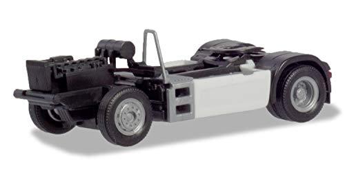 Herpa 085090 Man TGX/TGS 2a - Juego de chasis con Revestimiento de chasis (2 Unidades, en Miniatura, para coleccionar y Regalo), Color Blanco
