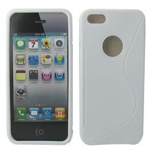 iphone 5 SLine Gel Case white
