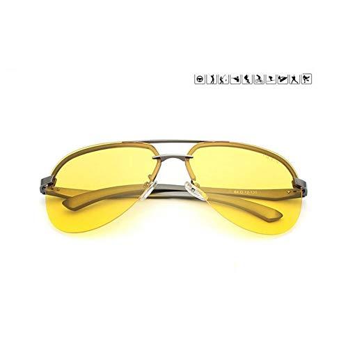 TIANZly Gelb Polarisierte Sonnenbrille Männer Nachtsichtbrille Markendesigner Frauen Spec Les Auto Fahrer Luftfahrt Brille Für Mann