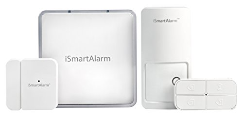 iSmartAlarm iSA1 Smart Home Security System for Apartment Renters