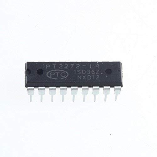 UIOTEC 10 PCS PT2272-L4 DIP18 PTC Remote Control Decoder IC* - Ptc-pc