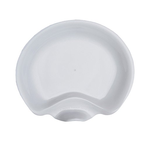 6 Pack Plate (WNA Gala 6 Count Plastic Plates, White)