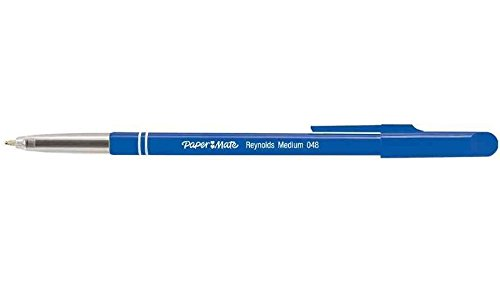reynolds-lot-de-6-stylos-a-bille-048-pte-moyenne-bleu