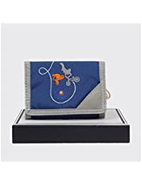 Petit portefeuille toile Tann's BMX T2CO-PFE - Bleu