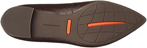 Rockport Adelyn Ballet, Ballerines Pour Femmes Brown (braun (ebony Croco))