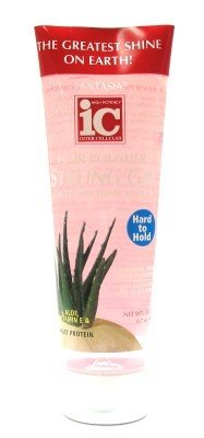 Fantasia Polisher Hair Gel with Sparkles 8.7 (H to H) Pink (3-Pack) with Free Nail File (Haargel) - Fantasia Polisher Gel