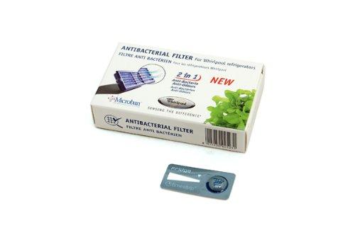 Preisvergleich Produktbild Whirlpool antibakterieller Kühlschrankfilter,  Mikroban ANT001,  ANT-001,  ANTF-MIC,  481248048172 - Luftbehandlung