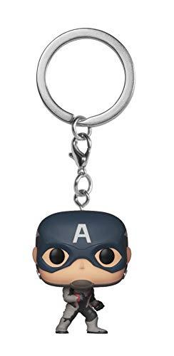 Funko- Pocket Pop Keychain: Avengers Endgame: Captain